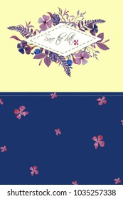 yellow blue background, wedding invitations, templates for commercial use, watercolor flowers