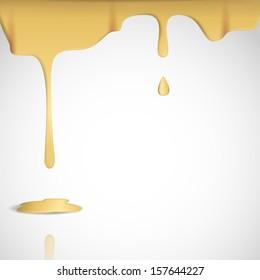 Yellow Cheese Background.