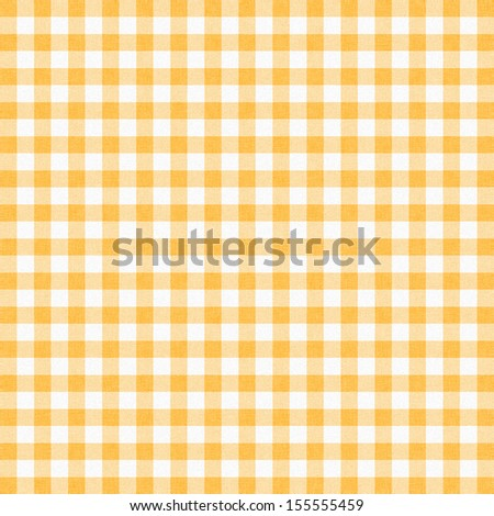 Exceptionnel Yellow Gingham Tablecloth Background Or Texture