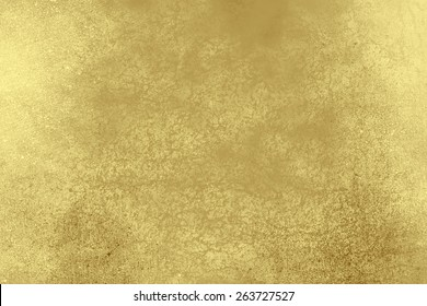 Yellow golden abstract   background , with   painted  grunge background texture for  design .