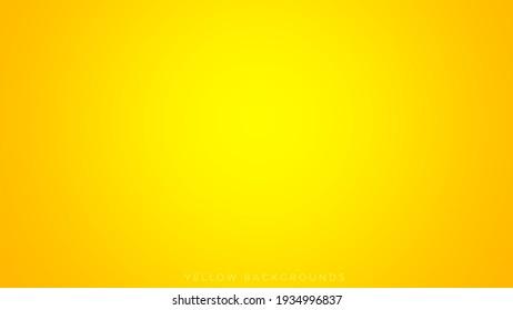 Yellow gradient background illustration, abstract backgrounds, background design, yellow backgrounds