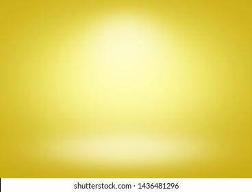 Yellow gradient background limbo classic