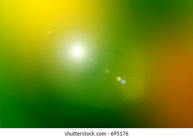 Yellow and Green Background