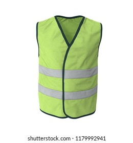 Workplace Safety Supplies Security & Protection Objective Yellow Reflective Vest Reflective Jacket High Visibility Knitted Reflective Safety Vest Logo Printing Vest Safety On Road Firm In Structure
