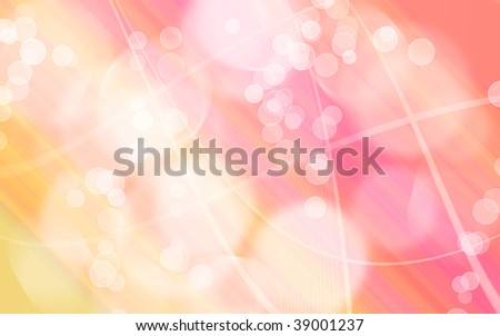 Yellow Pink Gradient Wallpaper Illustration Abstract Stock