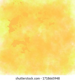 Yellow smoke background texture element for the game