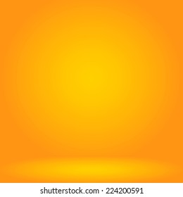 Yellow studio room background,Background for adding your content