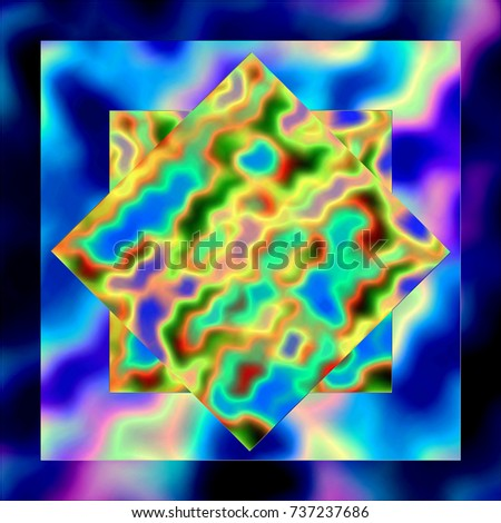 Royalty Free Stock Illustration Of Yellow Tie Dye Star On Medium
