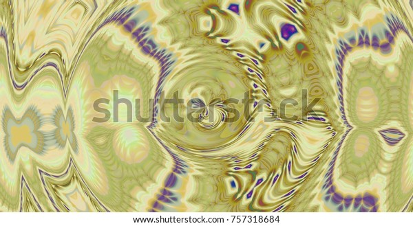 Yellow Wallpaper Background Abstract Form Stock Image