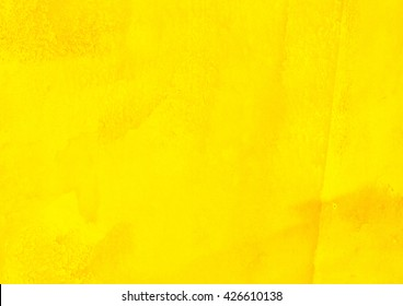 yellow watercolor background, abstract background
