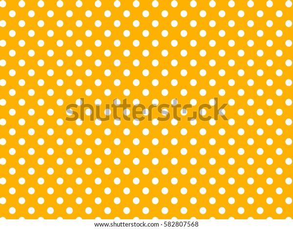 Yellow white dots pattern