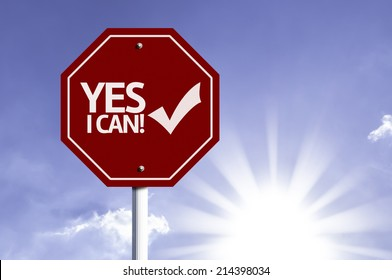 Yes I can with Checkmark Icon sign with sun background