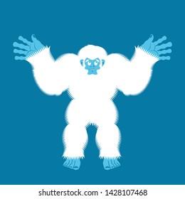 Yeti guilty. Bigfoot surprise. Abominable snowman culpablen.