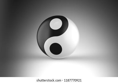 Yin & Yang 3d