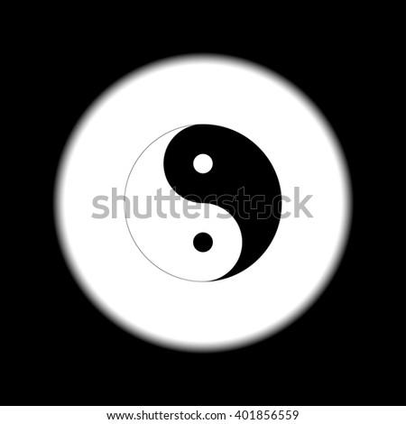 Yin Yang Symbol Black White Stock Illustration 401856559 Shutterstock