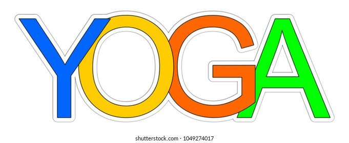 Yoga Banner - illustration