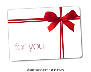 for you - gift card