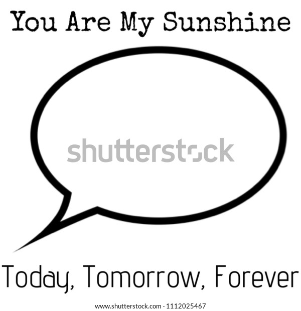 You My Sunshine Gifts Mom Dad Stock Image | Download Now
