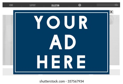 your ad here images stock photos vectors shutterstock
