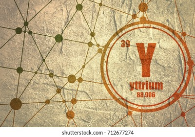 yttrium images, stock photos \u0026 vectors shutterstockyttrium chemical element sign with atomic number and atomic weight chemical element of periodic
