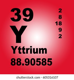 Yttrium periodic table elements stock illustration 605316206 yttrium periodic table of elements urtaz Choice Image