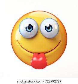 Cheeky langue emoji
