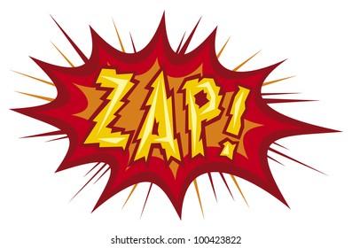 zap  - comic book design