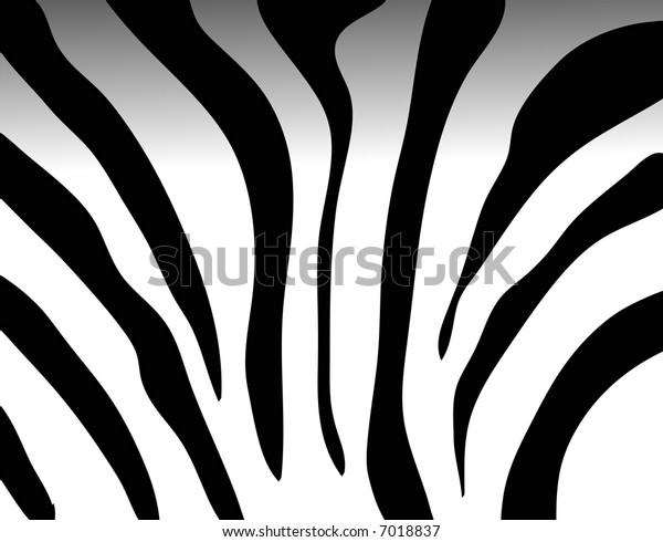 zebra texture Black and White