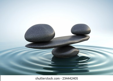 Zen Rocks Balanced Images Stock Photos Vectors Shutterstock