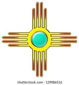 Zia Sun - Zia Pueblo - New Mexico