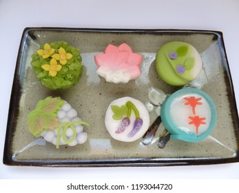 autumn wagashi Japan Tradition Confectionery food