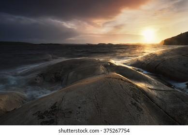 Sunset,Västra Götaland-Swened