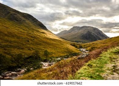 007 Sky Fall location, Scottish Highland, Isle of Skye,