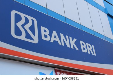 01 January 2020, Medan City, Indonesia-PT Bank Rakyat Indonesia (Persero) Tbk (People's Bank of Indonesia, commonly known as BRI or Bank BRI) is one of the largest banks in Indonesia