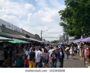 01 June 2019; Bangkok Thailand: Chatuchak Jatujak JJ Weekend Market, The largest market in the world.