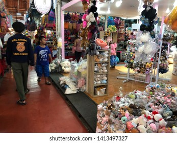 01 June 2019; Bangkok Thailand: Gift and Souvenirs Shop at Jatujak JJ Weekend Market, The largest market in the world.