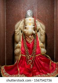 01 Mar 2019 Ek dant ganesh idol at Shri Kuldevi Bahudha Mataji Devsthan Nayka, Ta. Sami, Dist. Patan, Gujarat, India
