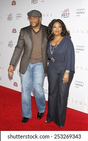 """01/11/2009 - Hollywood - Tyler Perry and Oprah Winfrey at the AFI FEST 2009 Screening of """"Precious"""" held at the Grauman's Chinese Theater in Hollywood, California, United States."""