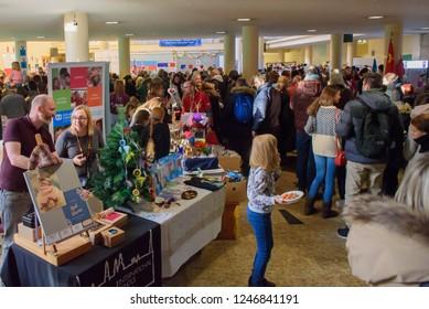 01.12.2018. RIGA, LATVIA. Christmas Charity Bazaar, organised by The International Women's Club of Riga.