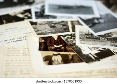 01.31.2019. Genealogy and Family History 2 - Old Photographs and Documents from around 1880-1940