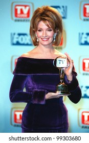 "01FEB99:  ""Days of Our Lives"" star DIERDRE HALL at the 1st Annual TV Guide Awards in Los Angeles. The show won for Favorite Soap Opera.  Paul Smith / Featureflash"