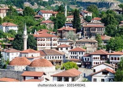 02 AUG 2014 Traditional Safranbolu Houses in Karabuk, Turkey