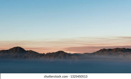 02/21/19 - Marlboro Country Sagada, PH One of the famous spots to watch sunrise in Philippines. Almost 360 degrees view of everything as the sun peeps on the horizon blessing us with golden light.