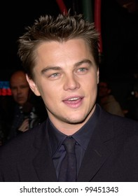 """02FEB2000: Actor LEONARDO DiCAPRIO at the Hollywood premiere of his new movie """"The Beach"""" in which he stars with Virginie Ledoyen.  Paul Smith / Featureflash"""