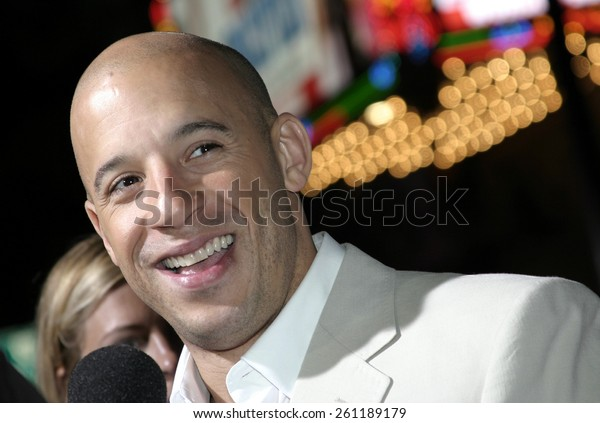 "03/01/2005 - Hollywood - Vin Diesel at ""The Pacifier"" Los Angeles Premiere at the El Capitan Theater."