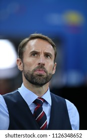 03.07.2018. MOSCOW, Russia: Gareth Southgate in the Round-16 Fifa World Cup Russia 2018 football match between COLOMBIA VS ENGLAND in Spartak Stadium.