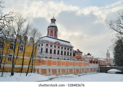 03.12.2016.Alexander Nevsky Lavra. is the first Christian monastery built in the city.