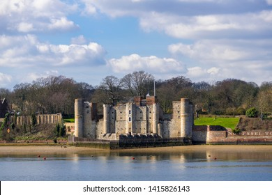 03.20.2018 Kent, UK. Upnor castle, a 16th century fortification situated on the river Medway at Chatham, Kent