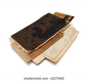 04 Travel memories, notebook from nineteenth century
