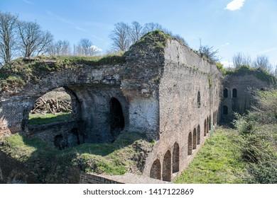 04.05.2018 Kent. UK. Fort Amherst Heritage fortification, Chatham Kent UK